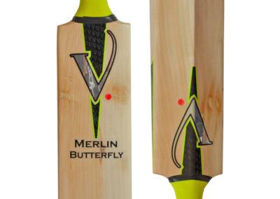 Vulcan Merlin Butterfly - Handmade Cricket Bat